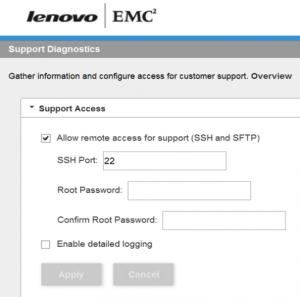 Iomega Enable SSH PX Series