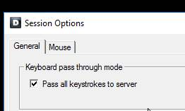 idrac-session-options-pass-all-keystrokes-to-server