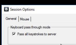 idrac-session-options-pass-all-keystrokes-to-server