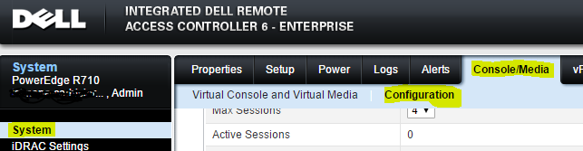 idrac6-system-console_media-configuration