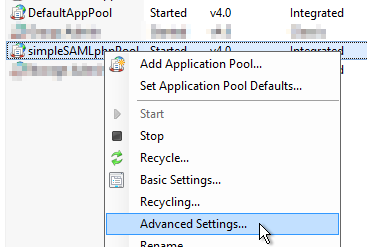 simpleSAMLphp on IIS from scratch (with AD FS) - IT Droplets