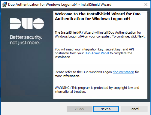 Enable Multi-Factor Authentication on RDP with DUO for free